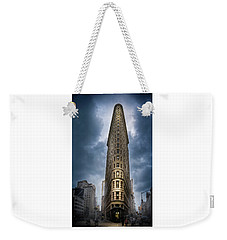 Weekender Tote Bag featuring the photograph Into The Clouds by Marvin Spates