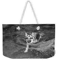 Into The Cold Weekender Tote Bag