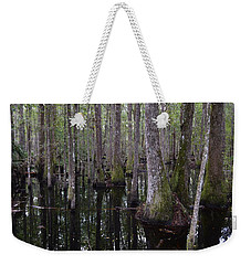 Into The Cypress Swamp Weekender Tote Bag