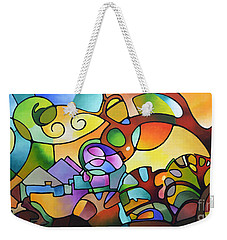 Into The Day Weekender Tote Bag