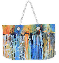 Into The Earth Weekender Tote Bag by Nancy Jolley