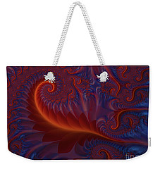 Into The Flames Weekender Tote Bag