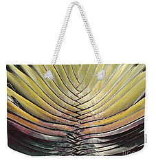 Into The Fold Weekender Tote Bag by Joy Angeloff