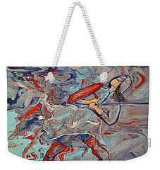 Into The Fray Weekender Tote Bag