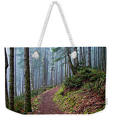 Into The Misty Forest Weekender Tote Bag