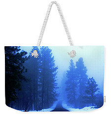 Into The Misty Unknown Weekender Tote Bag