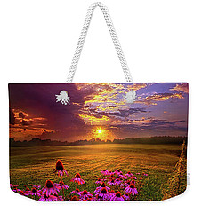 Into The Moment Weekender Tote Bag
