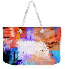 Weekender Tote Bag featuring the painting Into The Open by Dan Sproul