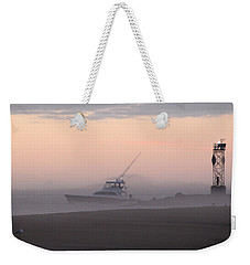 Into The Pink Fog Weekender Tote Bag
