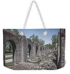 Weekender Tote Bag featuring the photograph Into The Ruins 2 by Melissa Lane