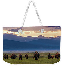 Into The Sunset Weekender Tote Bag