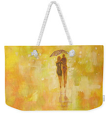 Into The Sunset Weekender Tote Bag by Raymond Doward