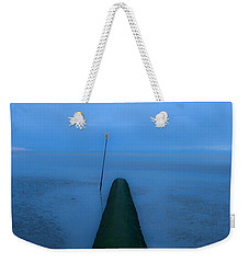 Weekender Tote Bag featuring the photograph Into The Unknown by Menega Sabidussi