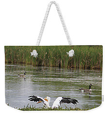 Into The Water Weekender Tote Bag by Alyce Taylor