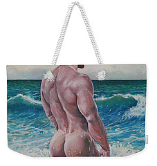 Into The Waves Weekender Tote Bag