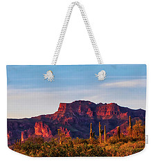 Weekender Tote Bag featuring the photograph Into The West by Rick Furmanek