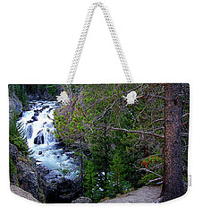 Weekender Tote Bag featuring the photograph Into The Wild by Diane E Berry