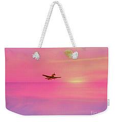 Into The Wild Pink Yonder Weekender Tote Bag