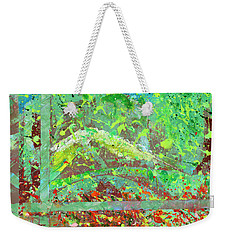 Into The Woods-through The Looking Glass Weekender Tote Bag