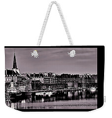 Weekender Tote Bag featuring the photograph Intra Muros At Night by Elf Evans