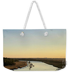 Intracoastal Waterway Weekender Tote Bag