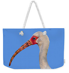 Weekender Tote Bag featuring the photograph Intriguing Ibis .png by Al Powell Photography USA