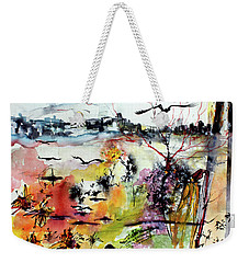 My Last Day On Earth. Tomorrow Is A New Beginning Weekender Tote Bag