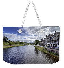 Weekender Tote Bag featuring the photograph Inverness by Jeremy Lavender Photography