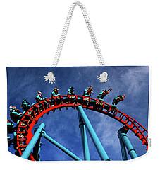 Inversion Weekender Tote Bag by James Kirkikis