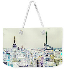 Weekender Tote Bag featuring the photograph Inversion Layer by Alex Lapidus
