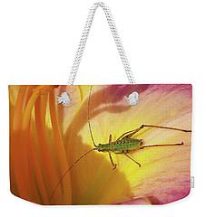 Investigating Bug Weekender Tote Bag