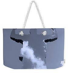 Weekender Tote Bag featuring the photograph Invisible ... by Juergen Weiss
