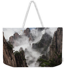 Invisible Hands Painting The Mountains. Weekender Tote Bag