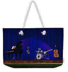 Invisible Jazz Weekender Tote Bag