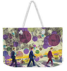 Invisible Men With Balloons Weekender Tote Bag