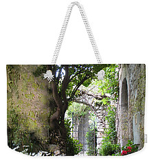 Inviting Courtyard Weekender Tote Bag