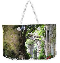 Inviting Courtyard Weekender Tote Bag