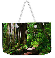 Inviting Hike Weekender Tote Bag