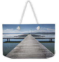 Inviting Walk Weekender Tote Bag