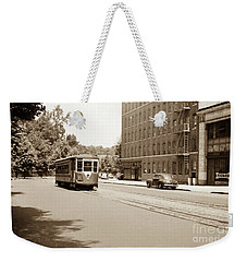Inwood Trolley  Weekender Tote Bag by Cole Thompson