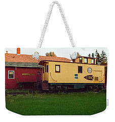 Iola Caboose Weekender Tote Bag by Trey Foerster