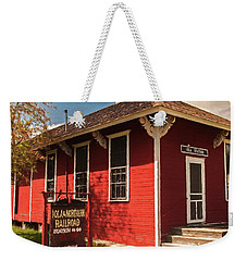 Iola Station Weekender Tote Bag by Trey Foerster