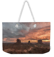 Io'u Weekender Tote Bag by Jon Glaser