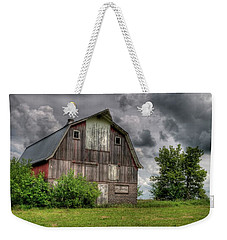 Iowa Barn Weekender Tote Bag