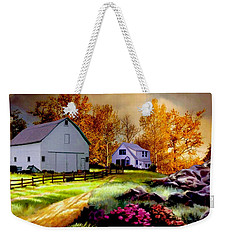 Iowa Farm Weekender Tote Bag