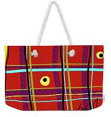 iPlaid Weekender Tote Bag