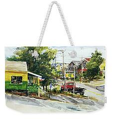 Irie Eats, Provincetown Weekender Tote Bag