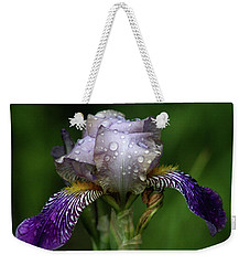 Iris After The Rain 1409 H_2 Weekender Tote Bag