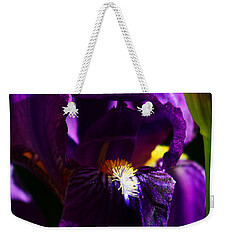 Iris Weekender Tote Bag by Anthony Jones