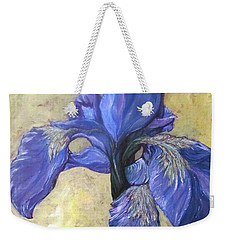 Iris Weekender Tote Bag by Barbara O'Toole